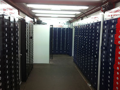 Event lockers